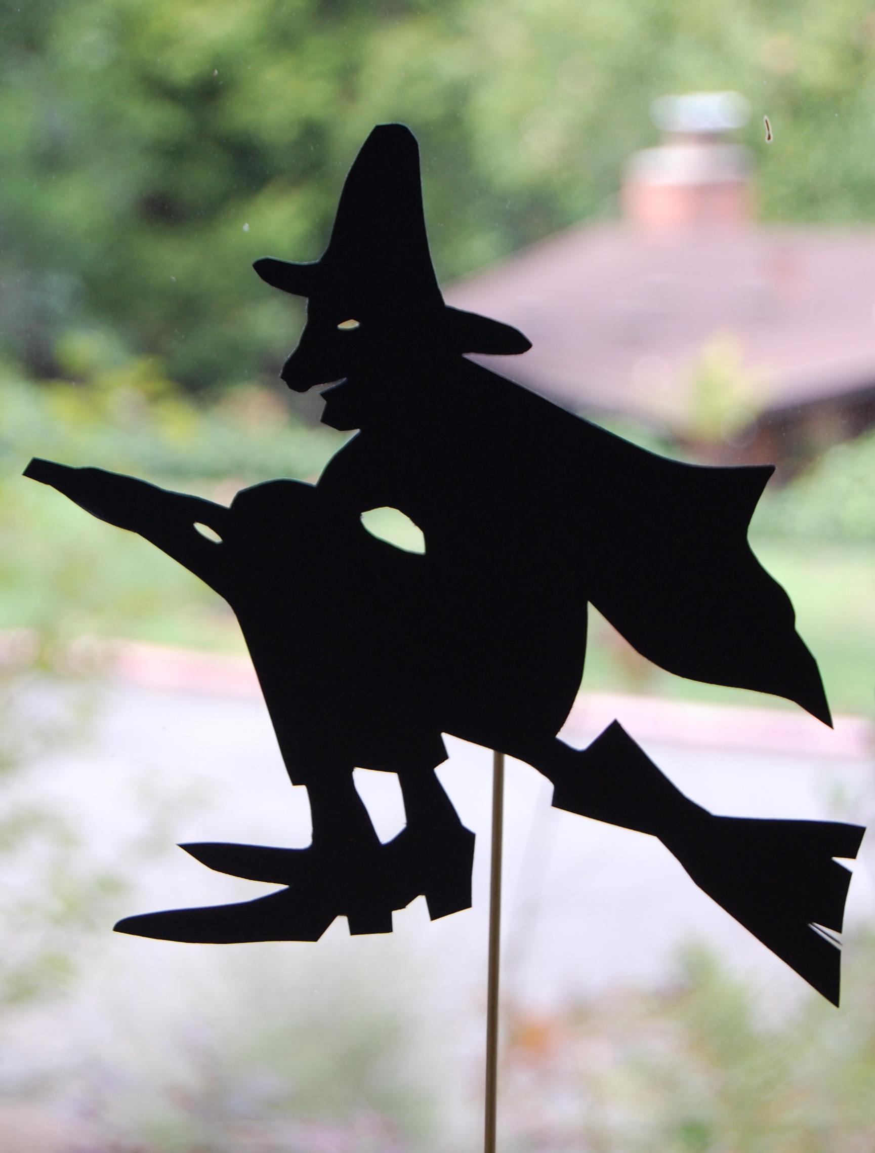 Halloween Shadow Puppets - Picnic